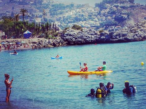 Przewodnik Malaga - Plaze