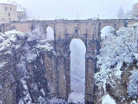 Zima w Maladze