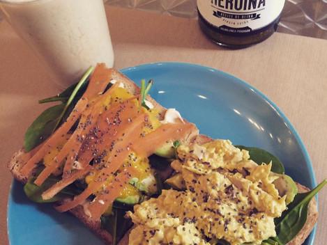 Sniadanie w Maladze