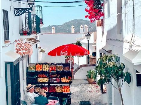 Friligiana - białe miasteczko w prowincji Malaga