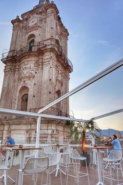 Przewodnik Malaga - Taras San Juan