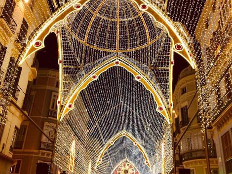 Malaga najlepszym słonecznym kierunkiem Świat Bożego Narodzenia