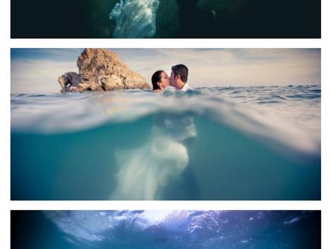 Podwodna sesja fotograficzna w Maladze
