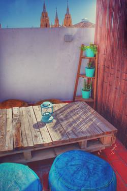 Przewodnik Malaga - Taras Upstairs