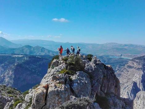 Sporty górskie w Andaluzji