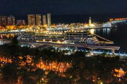 Przewodnik Malaga  - Taras Marriott