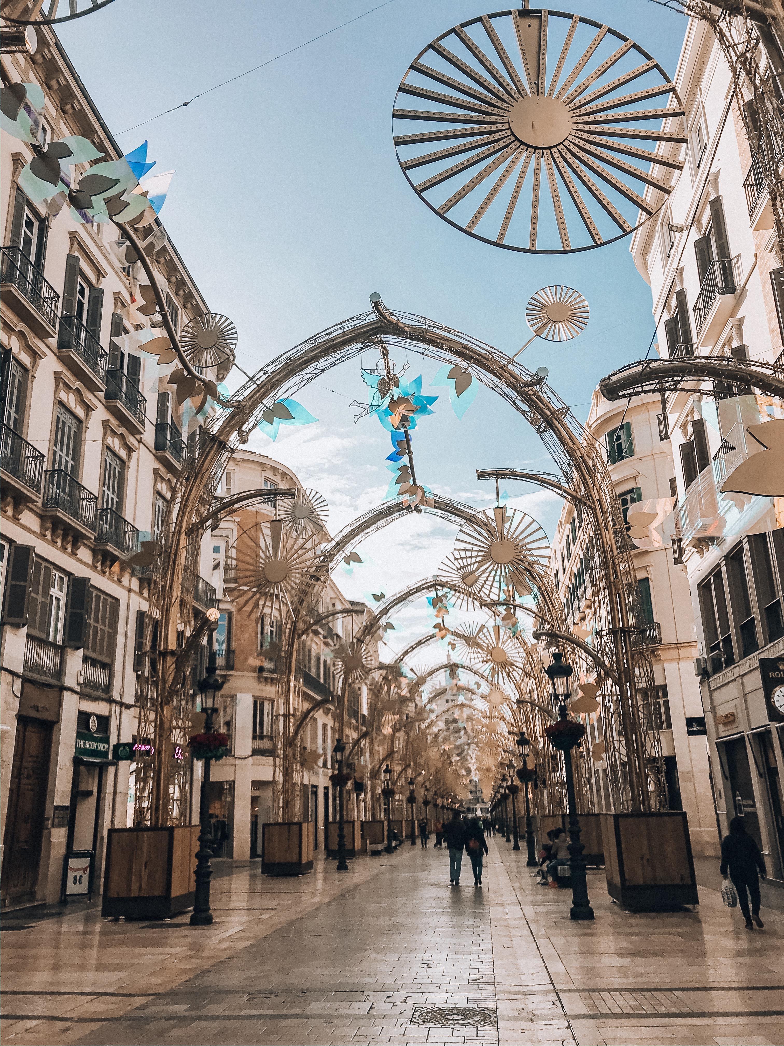 Boże Narodzenie w Maladze 2019