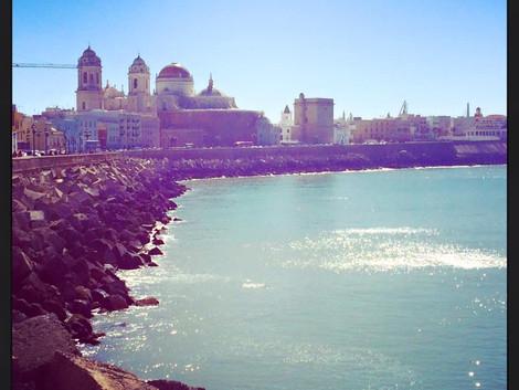 Dzien rozpoczęliśmy w Cadiz:)