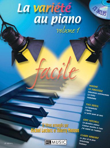 LA VARIETE AU PIANO Vol 1