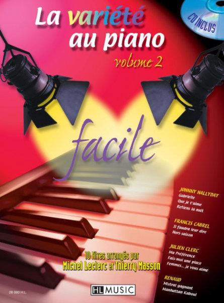 LA VARIETE AU PIANO Vol 2