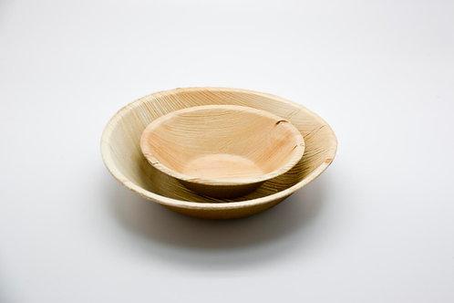Round bowl 7.5' palmleaf 10PC