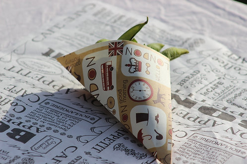 Paper cone London style