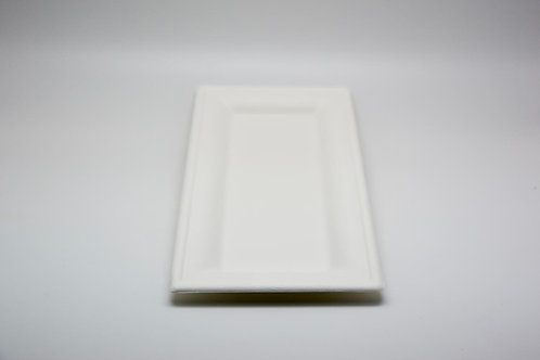 Sugarcane rectangle plate