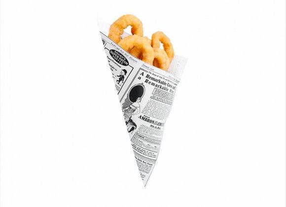 קונוס מנייר דגם עיתון 40 גרם