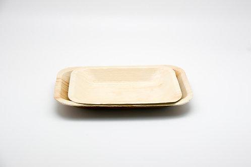 rectangularplate 5'-8'mediumpalm leaf 10PC