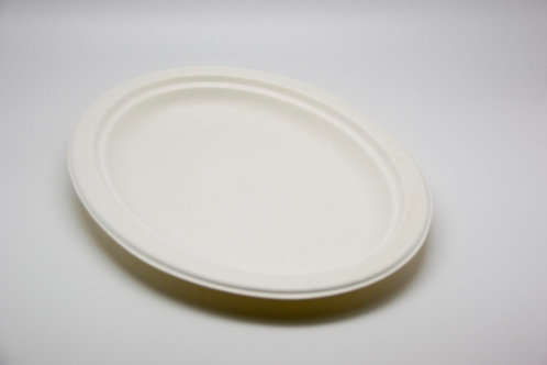 Sugarcane big Oval plate