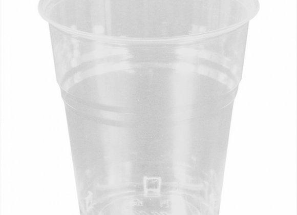 """כוסות 200 מ""""ל שקופות מתכלות PLA"""