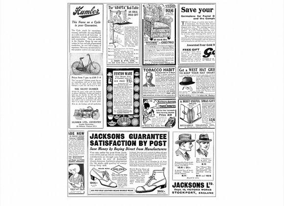 נייר עמיד שומן דגם  עיתון  28/34 1000 יחידות