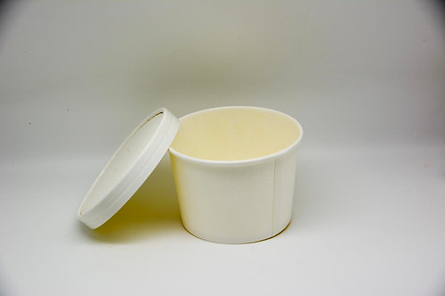 biodegradable round container for soup 16'