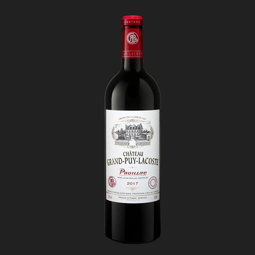2017 Pauillac Chateau Grand-Puy Lacoste