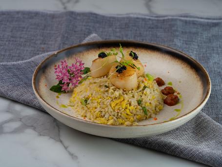 Egg Fried Rice with Hokkaido Scallops