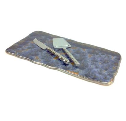 Borealis Frost Blue Medium Tray