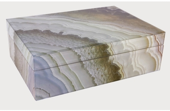 Marble glass box