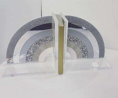 Silver RainbowAcrylic Bookends