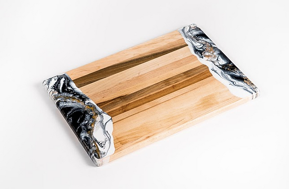 Resin Accent  Bread / Cheese Board