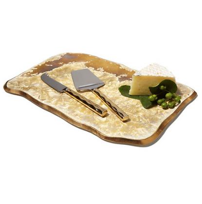 Borealis Gold Medium Tray