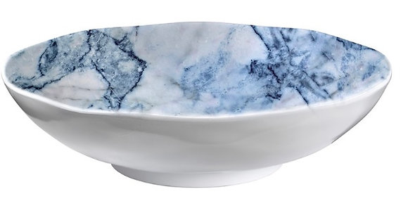 Blue Marble 12 inch serving bowl