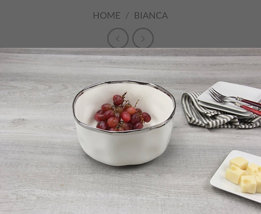 Bianca Medium Round Bowl
