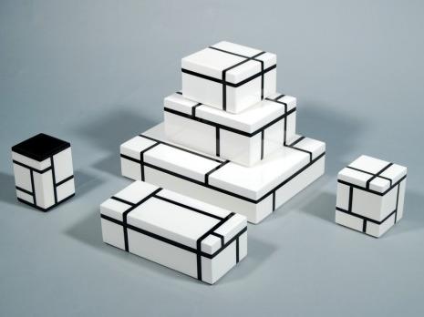 Grid Lacquer Boxes