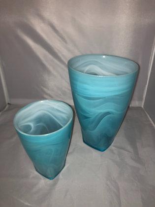 Turquoise vases