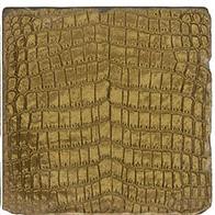 Gold Croc Trivet