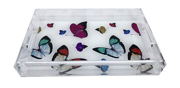 Butterfly Vanity tray
