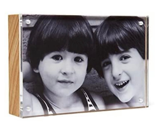 Acrylic Wood Back 4 x 6  Frame