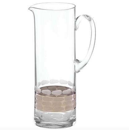 Truro Platnium Glass Pitcher