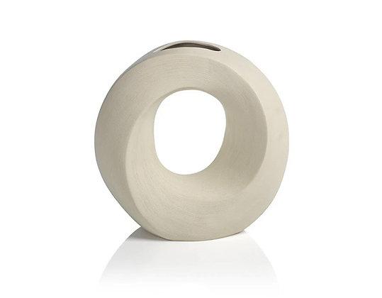 Ivory Manzanillo Porcelain Vase - Small