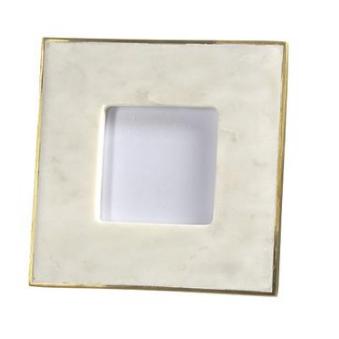 White marble 3.5 x 3.5 frame