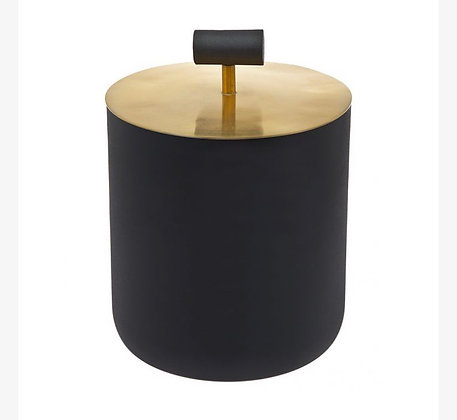 Encalmo black and gold Ice bucket