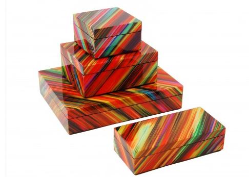 Crayon Lacquer Boxes