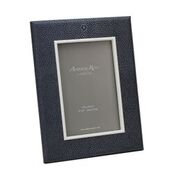 Dark Gray Shagreen 4 x 6 Frame