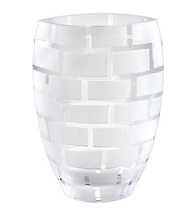 Frosted Wall Vase