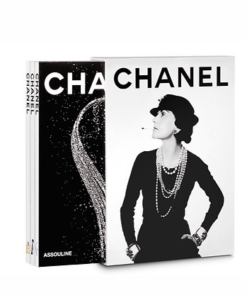 Chanel- 3 book slipcase