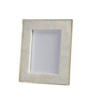 White marble frames