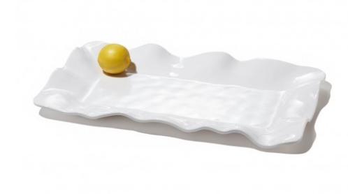 Vida Havana Long White Rectange Platter