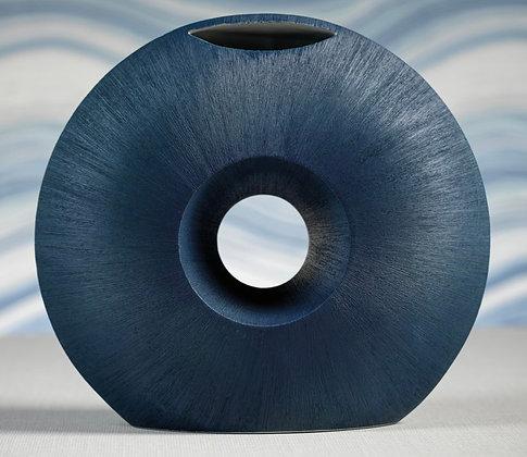 Blue Oceanic Porcelain Vase