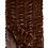 Thumbnail: Mahogony Mink Faux Fur Throw