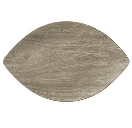 """Wood"" Melamine Tray"